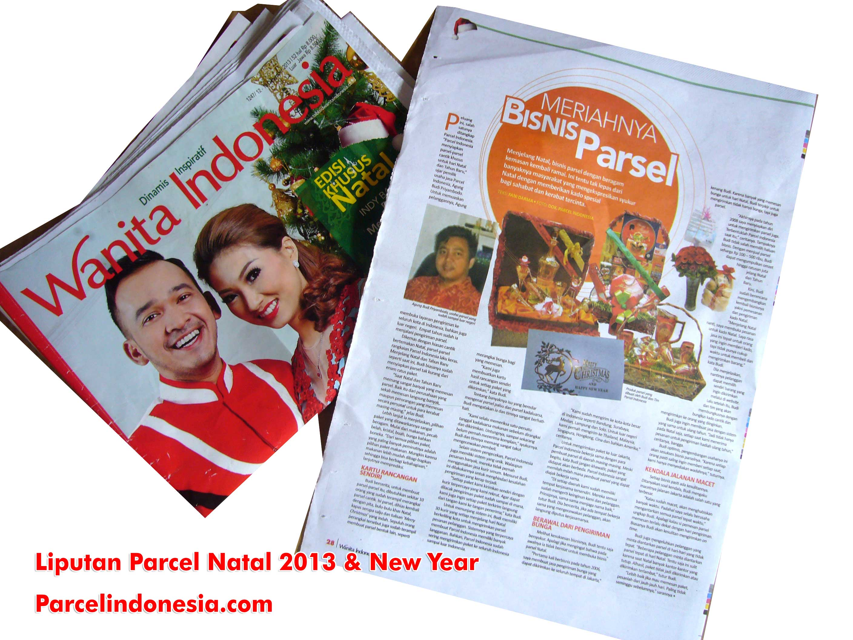 liputan parcel natal 2013 tabloid wanita indonesia