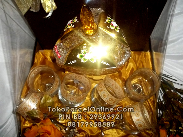 Parcel Glass Gold 08179958589 | TokoParcelOnline.Com